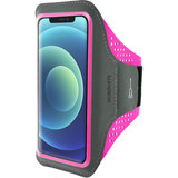Mobiparts Comfort iPhone 12 Pro Max sportband Roze