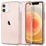 Spigen Liquid Crystal iPhone 12 mini hoesje Glitter Rose