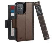 Twelve South BookBook iPhone 12 mini hoesje Bruin