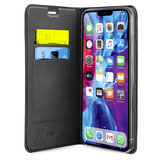 SBS Mobile Book Wallet Lite iPhone 12 mini hoesje Zwart