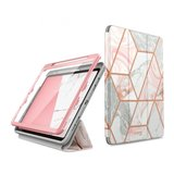 Supcase Cosmo Rugged iPad Air 2020 10,9 hoesje Marble