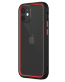 Rhinoshield CrashGuard NX iPhone 12 mini hoesje Zwart / Rood