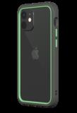Rhinoshield CrashGuard NX iPhone 12 mini hoesje Grijs / Groen