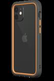 Rhinoshield CrashGuard NX iPhone 12 mini hoesje Grijs / Oranje