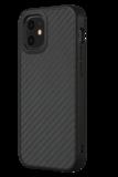 RhinoShield SolidSuit iPhone 12 mini hoesje Carbon Fiber