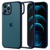 Spigen Ultra Hybrid iPhone 12 Pro / iPhone 12 hoesje Navy