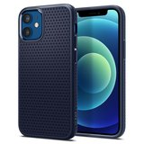 Spigen Liquid Air iPhone 12 mini hoesje Navy