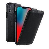 Melkco Leather Jacka iPhone iPhone 12 Pro Max hoesje Zwart