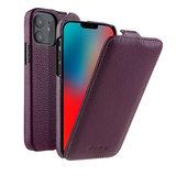 Melkco Leather Jacka iPhone iPhone 12 mini hoesje Paars