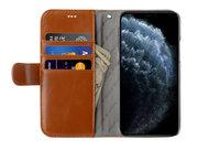 Melkco Wallet iPhone 12 Pro / iPhone 12 hoesje Bruin