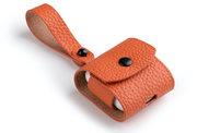 Melkco Leather AirPods hoesje Oranje