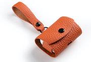 Melkco Leather AirPods Pro hoesje Oranje