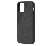 Native Union Clic Canvas iPhone 12 Pro / iPhone 12 hoesje Zwart