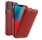 Melkco Leather Jacka iPhone iPhone 12 mini hoesje Rood