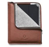 Woolnut Leather Folio iPad Pro 12,9 inchhoesje Cognac