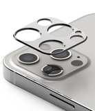 Ringke aluminum Camera iPhone 12 Pro Max beschermer Zilver