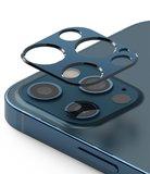 Ringke aluminum Camera iPhone 12 Pro Max beschermer Blauw