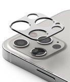 Ringke aluminum Camera iPhone 12 Pro beschermer Zilver