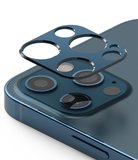 Ringke aluminum Camera iPhone 12 Pro beschermer Blauw