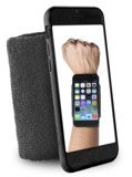 Puro Running Sportband iPhone 6 Black