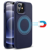 ESR Cloud Halolock magnetisch iPhone 12 mini hoesje Blauw