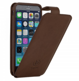 Bugatti Flipcase Milano iPhone 6/6S Brown