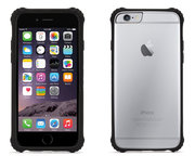 Griffin Survivor Clear case iPhone 6/6S Black