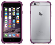 Griffin Survivor Clear case iPhone 6/6S Purple