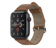 Native Union Classic Apple Watch 44 mm bandje Bruin