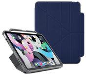 Pipetto Shield Pencil Origami iPad Air 2020 10,9 hoesje Donkerblauw