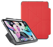 Pipetto Shield Pencil Origami iPad Air 2020 10,9 hoesje Rood