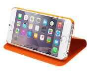 LAUT Apex Folio Bookcase iPhone 6/6S Orange