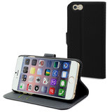 Muvit Slim Wallet case iPhone 6 Plus Black