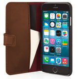 Pipetto Leather Wallet iPhone 6/6S Brown