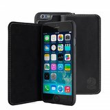 Bugatti Leather Bookcase Oslo iPhone 6/6S Black