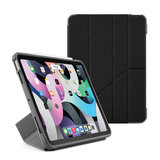 Pipetto Shield Origami iPad Air 2020 10,9 inch hoesje Zwart