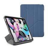 Pipetto Shield Origami iPad Air 2020 10,9 inch hoesje Navy