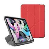 Pipetto Shield Origami iPad Air 2020 10,9 inch hoesje Rood