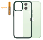PanzerGlass ClearCase iPhone 12 mini hoesje Groen
