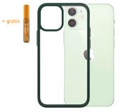 PanzerGlass ClearCase iPhone 12 mini hoesje Groen