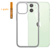 PanzerGlass ClearCase iPhone 12 mini hoesje Zilver