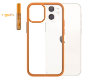 PanzerGlass ClearCase iPhone 12 mini hoesje Oranje