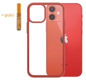 PanzerGlass ClearCase iPhone 12 mini hoesje Rood