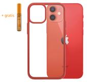 PanzerGlass ClearCase iPhone 12 mini hoesje Rood