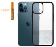 PanzerGlass ClearCase iPhone 12 Pro / iPhone 12 hoesje Zwart