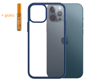 PanzerGlass ClearCase iPhone 12 Pro / iPhone 12 hoesje Blauw