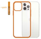 PanzerGlass ClearCase iPhone 12 Pro / iPhone 12 hoesje Oranje