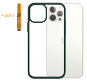 PanzerGlass ClearCase iPhone 12 Pro Max hoesje Groen