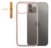 PanzerGlass ClearCase iPhone 12 Pro Max hoesje Rose