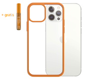PanzerGlass ClearCase iPhone 12 Pro Max hoesje Oranje